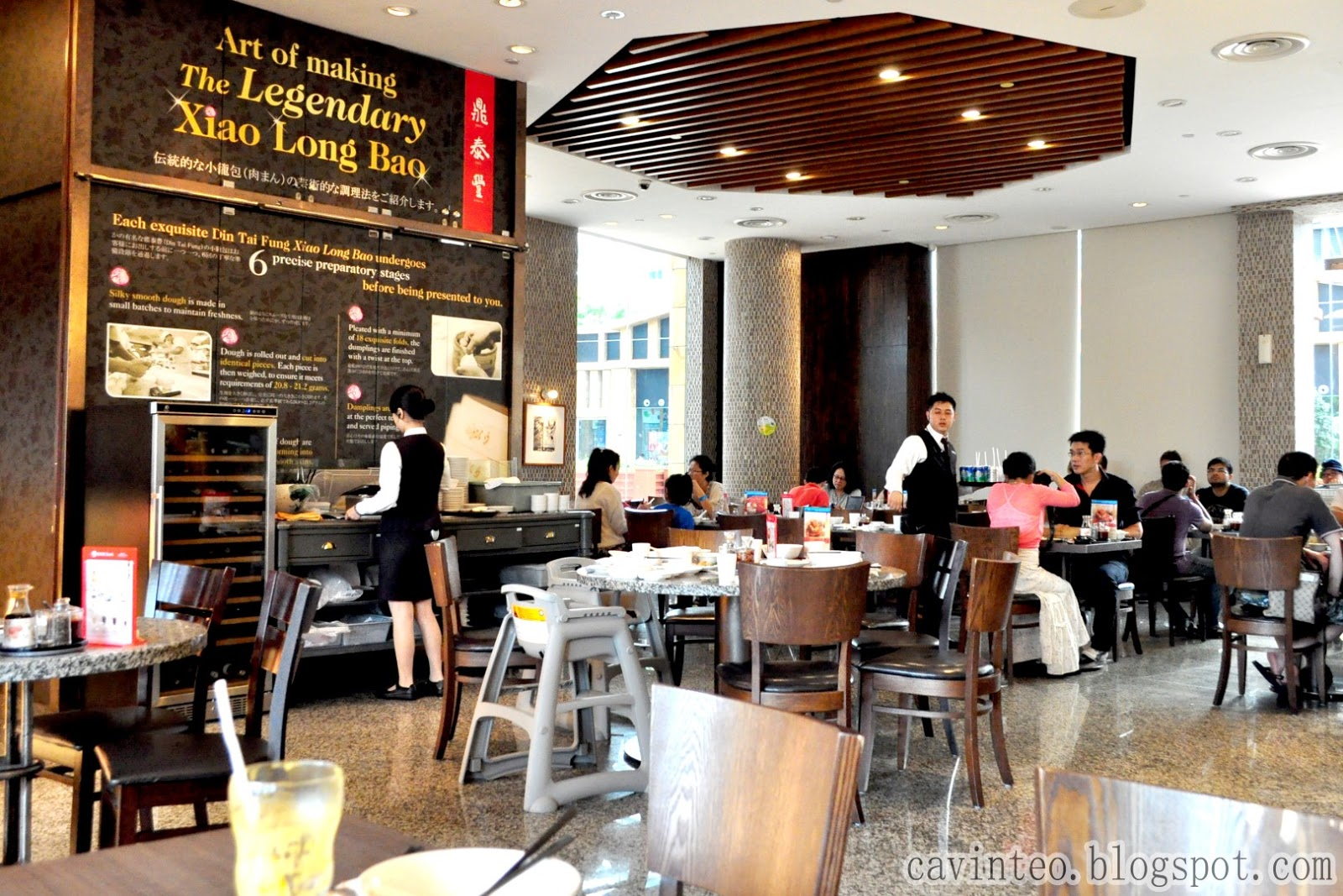 Something Was Amiss With The Din Tai Fung Outlet At Resort World Sentosa Has Anyone Actually Noticed Smaller Word Baits Beside