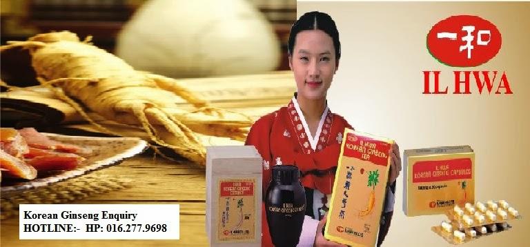 Ilhwa Korean Ginseng Malaysia