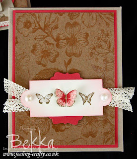 Thank You Kindly Box of Card - A Card Class by Stampin' Up! Demonstrator Bekka Prideaux - check out her classes at www.feeling-crafty.co.uk