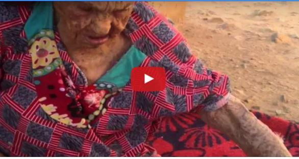 بالفيديو ... عائشة حدو أكبر معمرة مغربية عايشت خمسة ملوك و لم تزر طبييا يوما