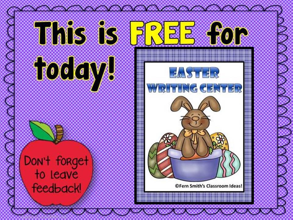http://www.teacherspayteachers.com/Product/Easter-Writing-Center-for-Common-Core-605150