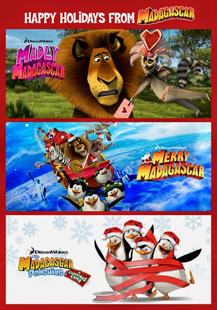 Holiday Madagascar favorites on @Netflix  #streamteam