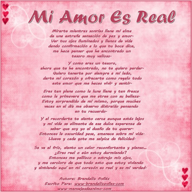 Brendaliz Avilés: Sitio Oficial: Poemas de Amor