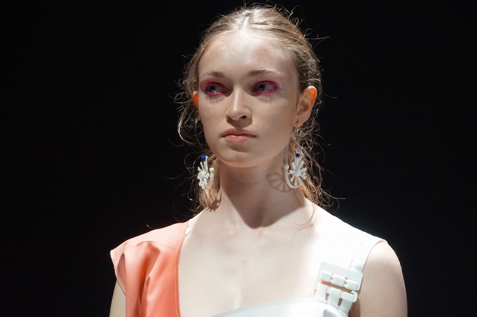 Min Wu SS16 London Fashion Week Beauty