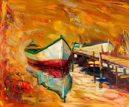 12-Ivailo Nikolovhas-Bright-Paintings-Modern-Impressionism-www-designstack-co