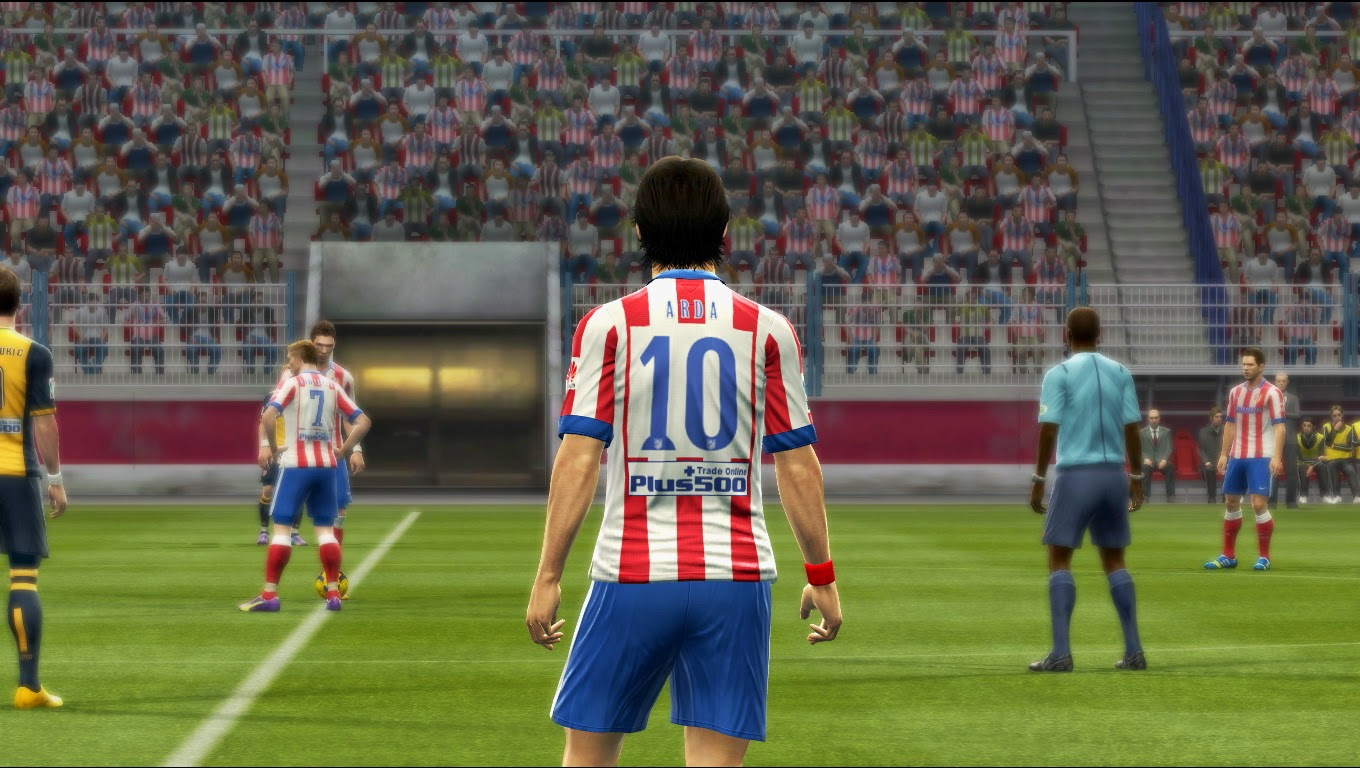 PES 2013 Atletico Madrid 14-15 GDB Update Sockatyes Kits by Vulcanzero