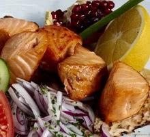 Настоящее царское блюдо – шашлык из осетра