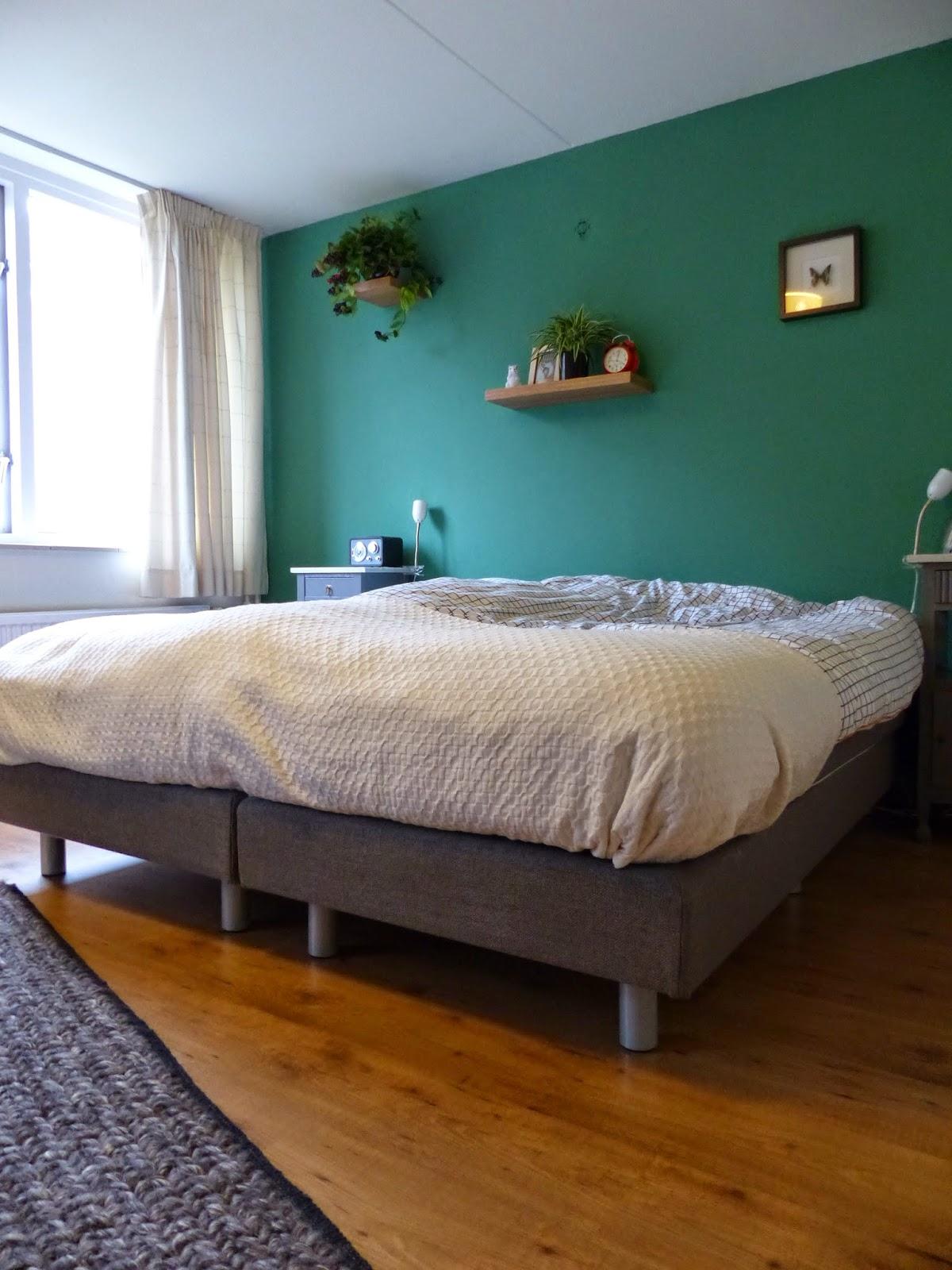 slaapkamer groen verven ~ pussyfuck for ., Deco ideeën