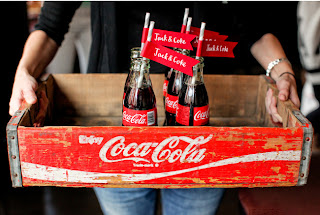 Coca Cola Theme Wedding
