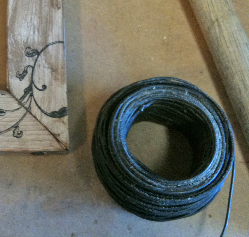 G J Wire Picture Note Frames How To Aluminum Electrical Wiring The Home Depot Community For I Like Use Tie You Can Find It At Ace Or