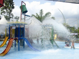Fountain waterpark