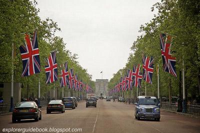 The Mall Buckingham Palace