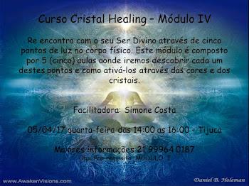 Curso Cristal Healing - Mod. IV