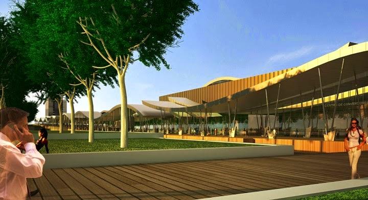 Diseño Centro de Convenciones Punta del Este Arq. Carlos Ott