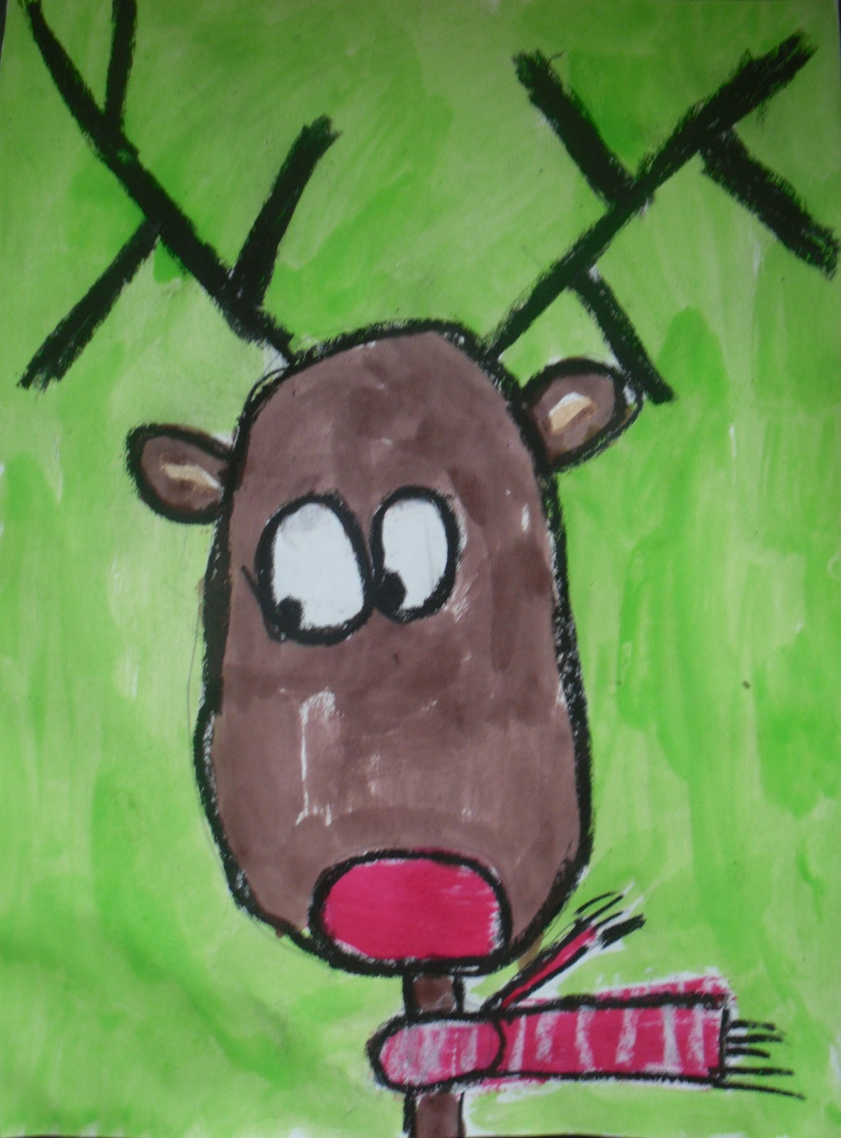 artventurous reindeer portraits