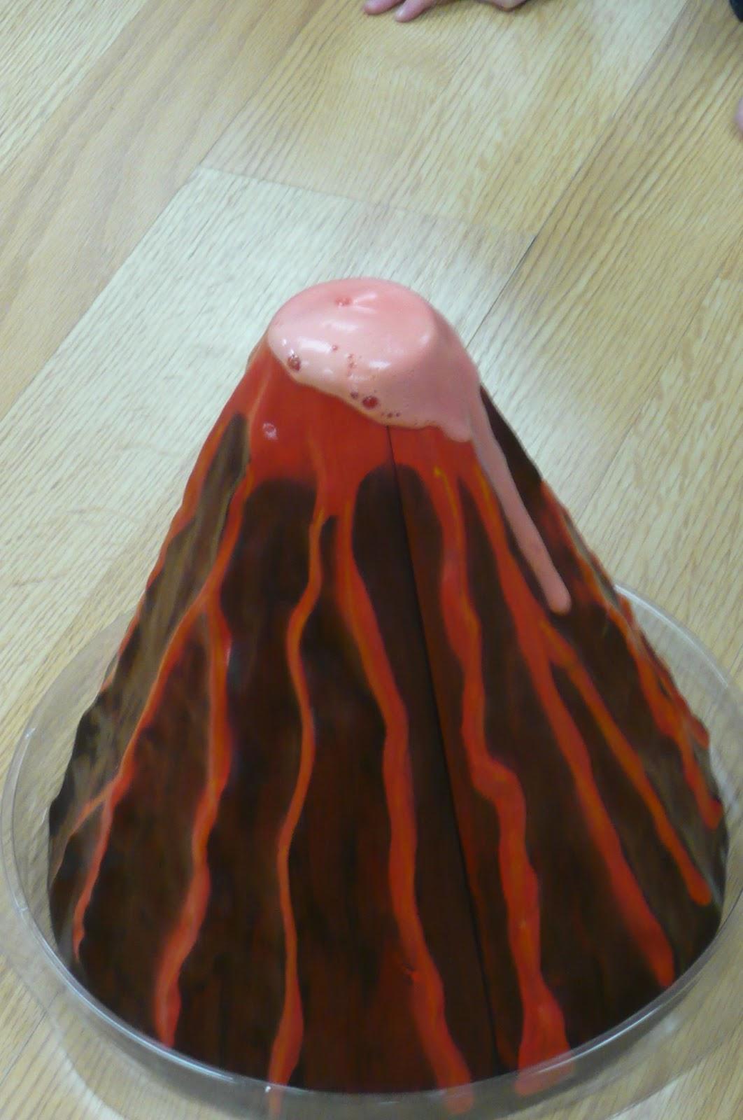 Worksheet Baking Soda & Vinegar Volcano montessori teachings volcano volcano