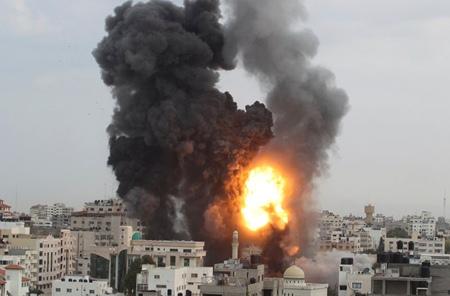 The devastating images in the Gaza Strip