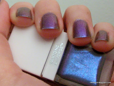 Sephora+Pantone Universe Spectral Lacquer in Waterfall swatches