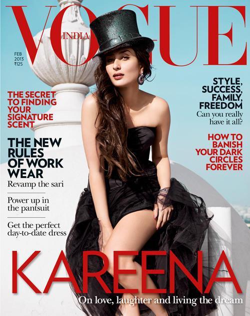 Kareena kapoor vogue hot look