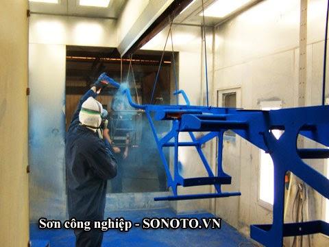 sơn sắt thép