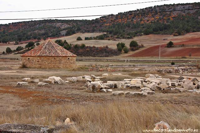 Noria de extracción de agua, Salinas de Armallá