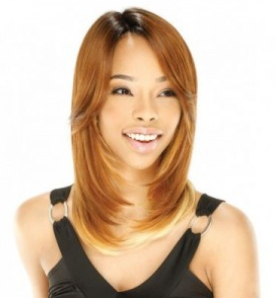Model Model Synthetic Deep Invisible Part Lace Front Wig Laymie