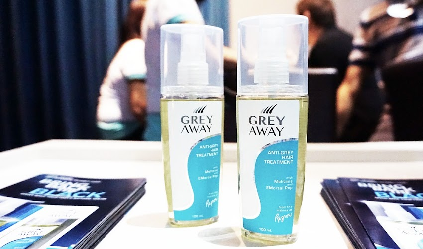 "Say Goodbye to Grey Hair with ""Grey Away"""