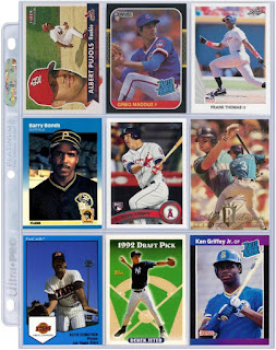 Best binder page – my starting nine