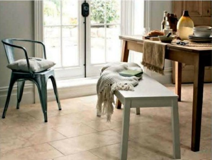 Can you suggest a budget country flooring solution for a child's