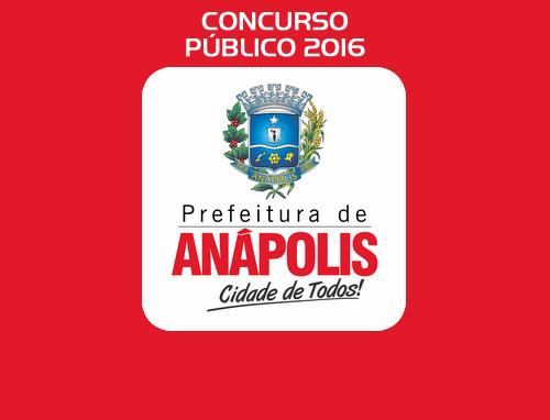 Concurso da Prefeitura de Anápolis - GO - 272 vagas