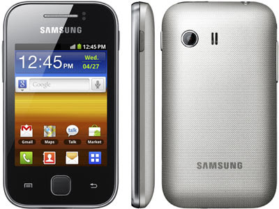 Hacer un hard reset en Samsung Galaxy Y (S5360)