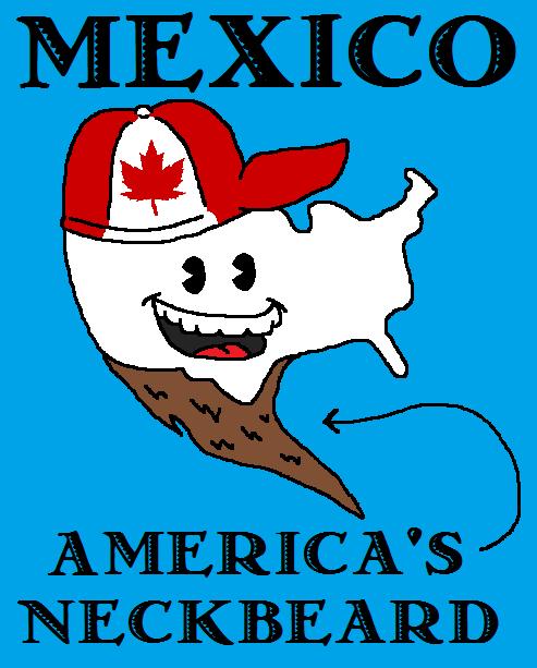 mexico america's beard