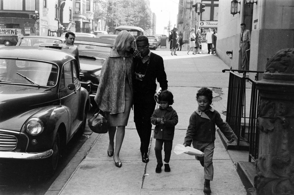 Photograph sammy davis jr may britt and their children