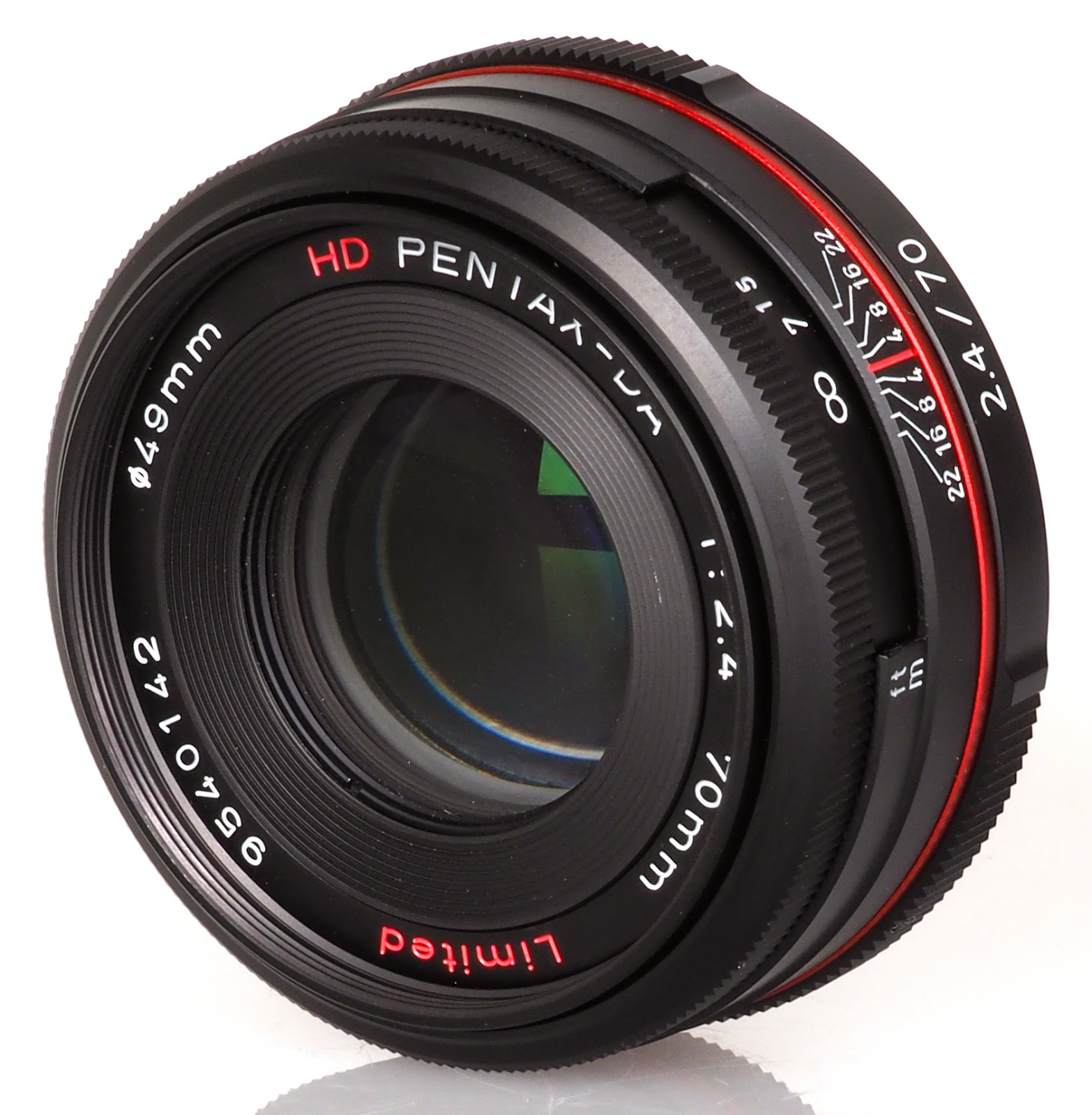 HD PENTAX-DA 70mm f/2.4 Limited фото
