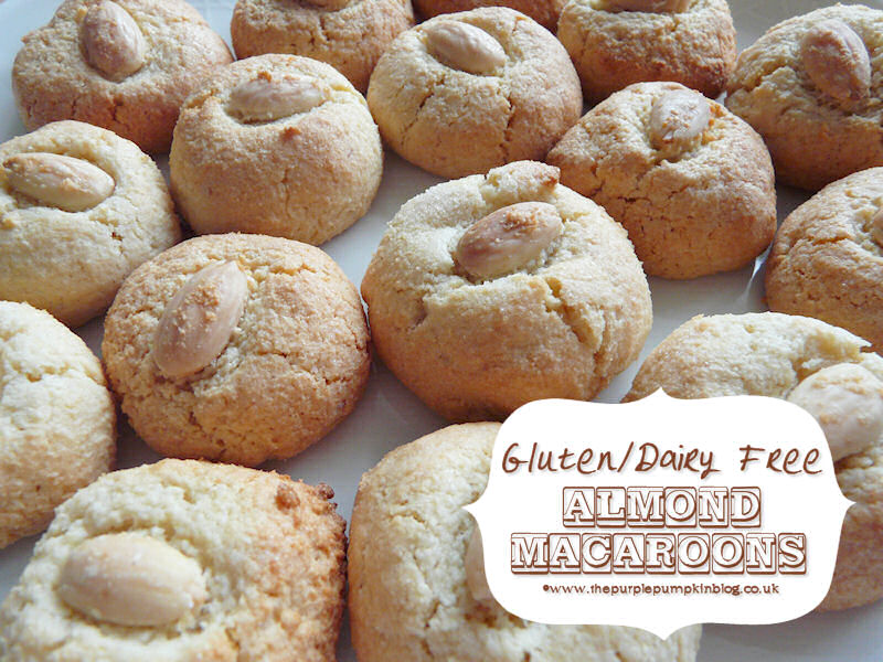 Almond Macaroons - Gluten & Dairy Free for Passover Almond Macaroons Recipe Uk