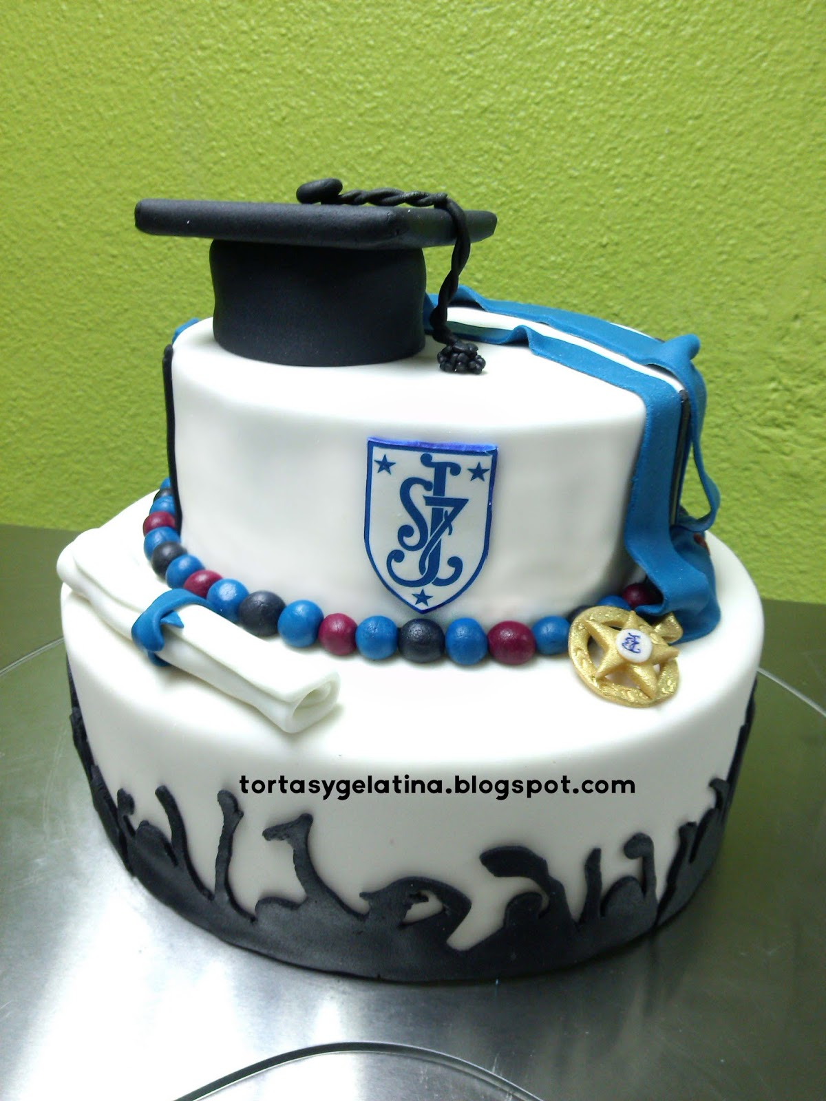 Tortas de graduacion utilisima tortas de graduaci 243 n for Utilisima decoracion