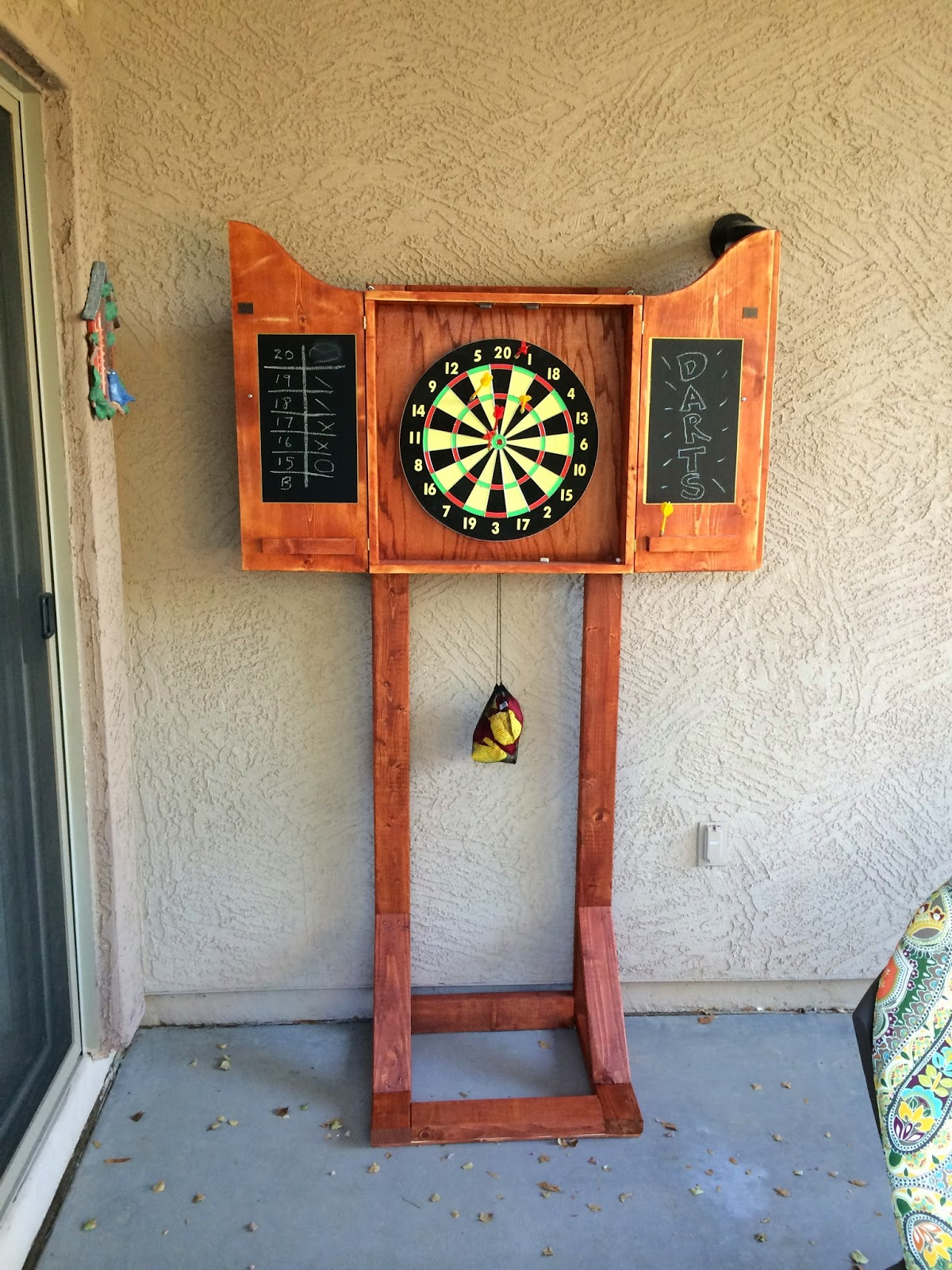 Timbo S Creations Dartboard Cabinet Stand