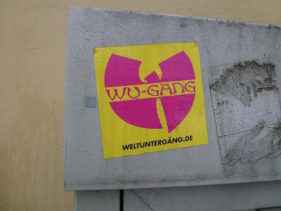 Sticker, Urbanart, Streetart