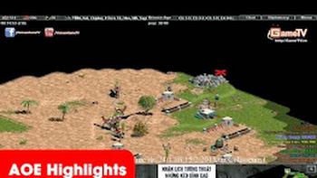 AOE Highlights, Palmyran của Chipboy kích 8p47 chém chết 4 nhà