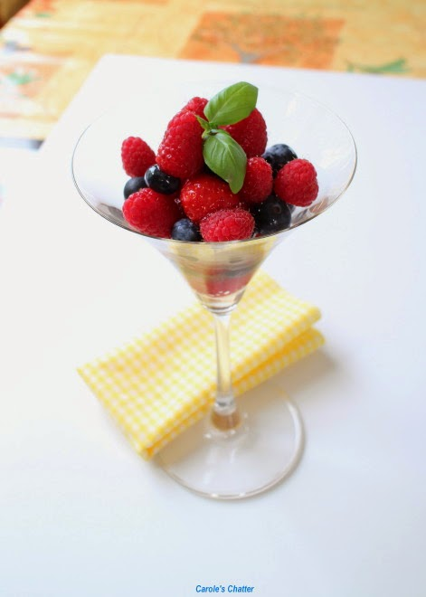Carole's Chatter: Berry 'Cocktail'