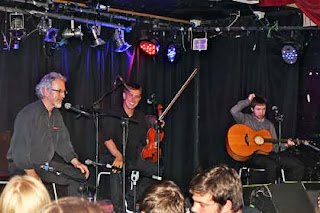 Noel Hill, Liam O'Connor and Caoimhin O Fearghail at Whelan's. (Photo by Mick O'Connor)