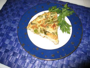 Asparagus Frittata Pie