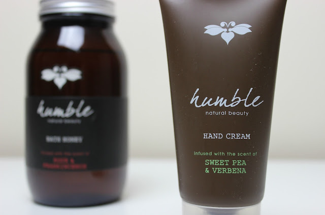 The moisturising Humble Sweet Pea & Verbena Hand Cream