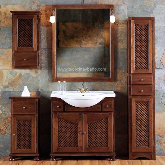 Mueble ba o rustico dos senos imagui - Muebles de bano rusticos online ...