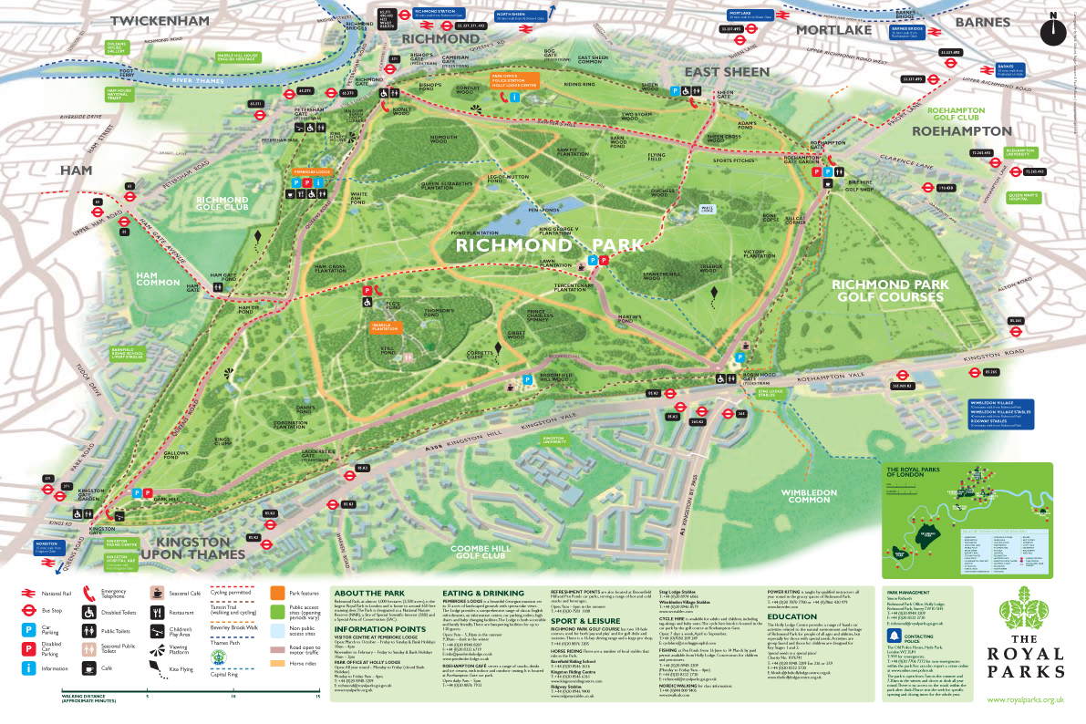 Dog Walking Routes On Richmond Park