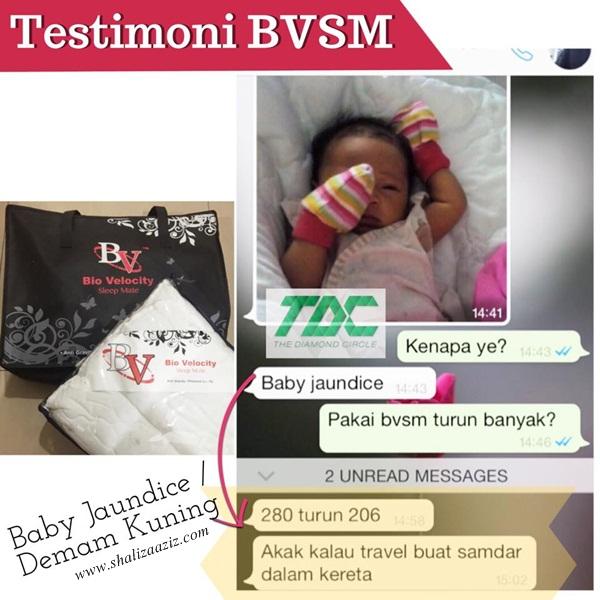Rawatan Alternatif ~ Baby Jaundice / Demam Kuning (BVSM) Testimoni