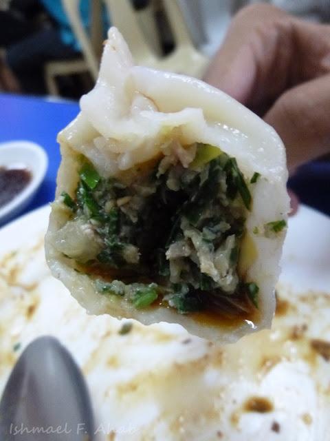 Yummy dumpling from Lan Zhou La Mien