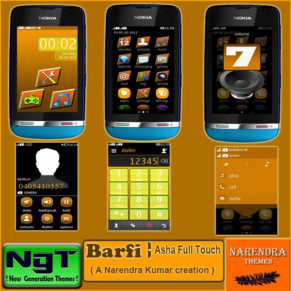 Narendra's Themes: Barfi ! Asha Full Touch