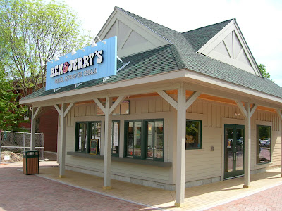 Ben and Jerrys new store