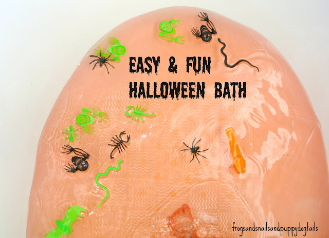 Fun and Easy Halloween Bath